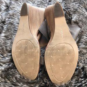 Halogen Shoes - Halogen 'Clarette' Wedge Sandal - Size 10
